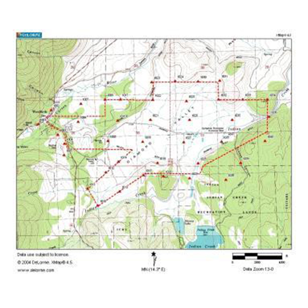 Diamond Valley Ranch Aerial Mapping - Auerbach Engineering Corp. on
